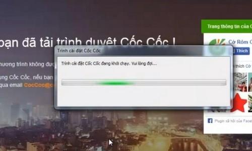 Cài CocCoc, setup trình duyệt web CocCoc