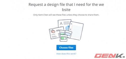 File Request - Tính năng mới của Dropbox