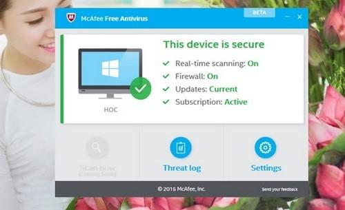 Windows 10 free antivirus software