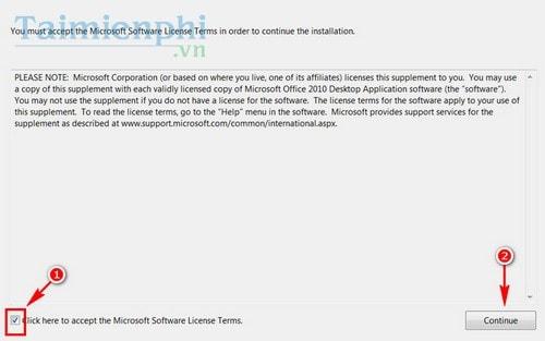 Cài Office 2010, bộ công cụ văn phòng Word, Excel 2