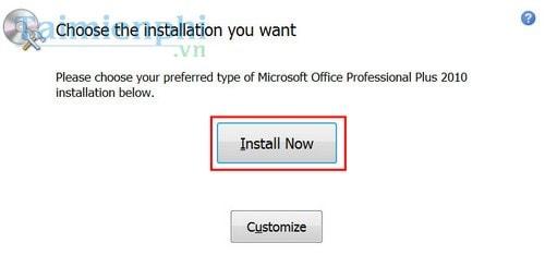 Cài Office 2010, bộ công cụ văn phòng Word, Excel 5