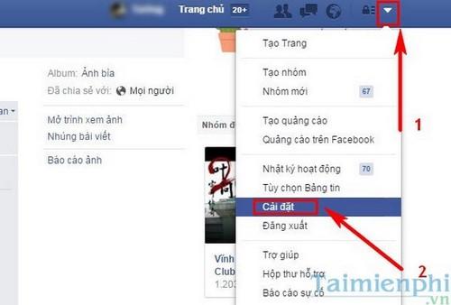 Tắt tính năng tìm Facebook bằng email và số điện thoại