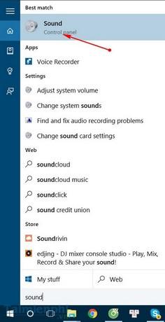 Khắc phục lỗi mất âm thanh trong Windows 10 2