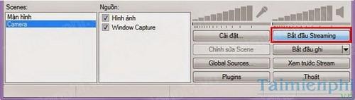 Open Broadcaster - Truyền hình trực tiếp trên máy tính, laptop