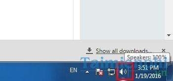 Sửa lỗi biểu tượng loa bị gạch chéo đỏ trên thanh taskbar