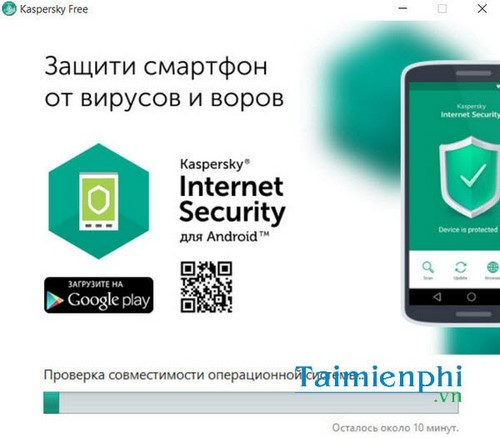 Kaspersky free installation