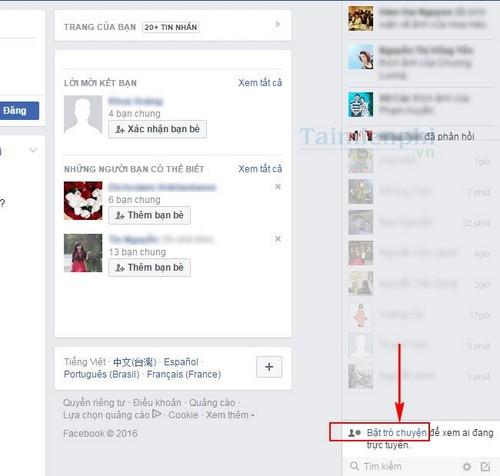 an nick facebook cua nguoi dung