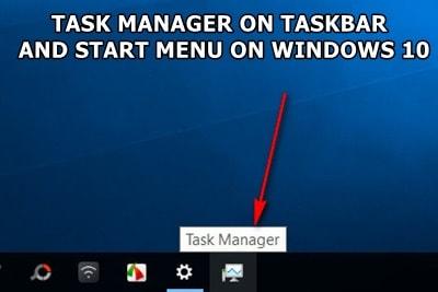 ghim task manager len taskbar