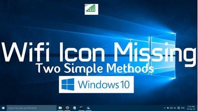 mat bieu tuong wifi tren thanh taskbar windows 10