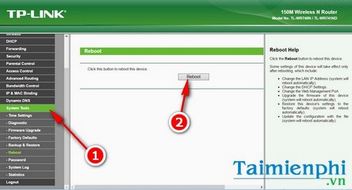 Cách reset modem wifi TP link, thiết lập lại modem TP Link