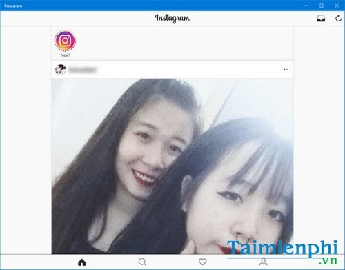 tao tai khoan instagram phien ban pc