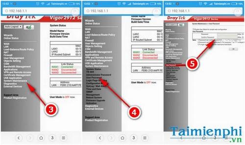 Cách đổi mật khẩu wifi bằng điện thoại, thay pass wifi viettel, fpt, vnpt trên Smartphone 9