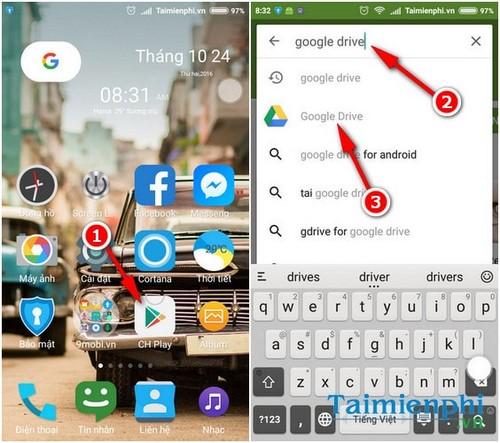 Hướng dẫn cài đặt Google Drive 8