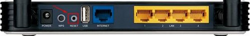 reset modem tp link