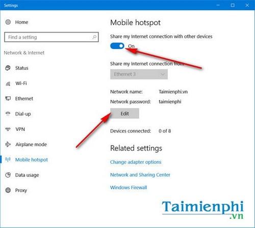 Sửa lỗi We can't set up mobile hotspot, fix lỗi không thể phát wifi trên Windows 10 12