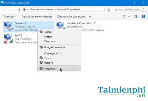 Sửa lỗi We can't set up mobile hotspot, fix lỗi không thể phát wifi trên Windows 10 14