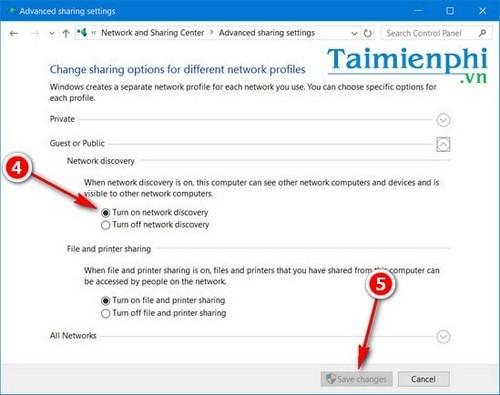 Sửa lỗi We can't set up mobile hotspot, fix lỗi không thể phát wifi trên Windows 10 7