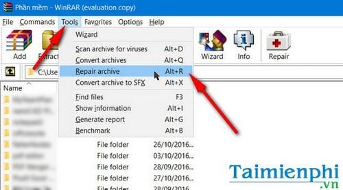 Hướng dẫn sửa lỗi Winrar unexpected end of archive, không giải nén được file 2