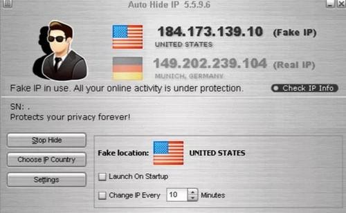 Phần mềm fake ip, đổi iP, ẩn iP, chơi game, lướt Web ẩn danh tốt nhất 2020 19