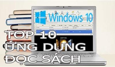 top ung dung doc sach tren windows 10