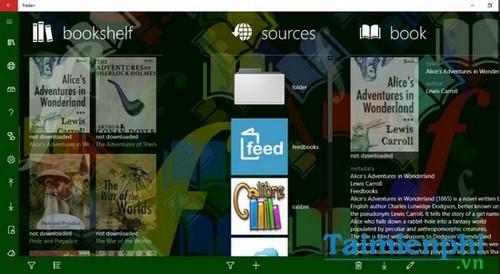 Top 10 ứng dụng đọc sách, ePub, Prc cho Windows 10 tốt nhất 8