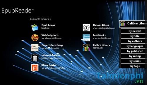 Top 10 ứng dụng đọc sách, ePub, Prc cho Windows 10 tốt nhất 9
