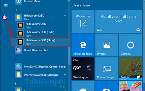 Cách ẩn biểu tượng Volume trên Windows 10, dấu biểu tượng tăng giảm âm