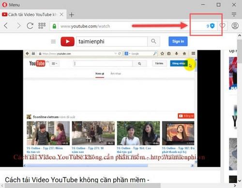 Chặn quảng cáo Youtube khi xem video trên trình duyệt Opera