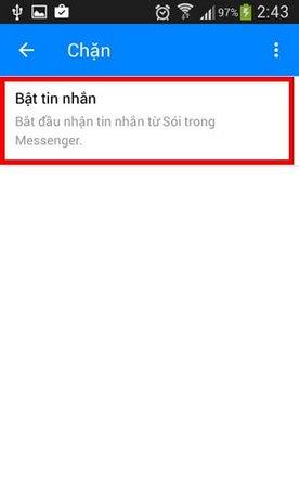Chặn tài khoản Facebook Messenger, ngăn nhắn tin trên facebook messenger