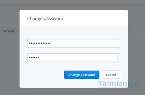 Đổi mật khẩu Dropbox, cách thay đổi password trên Dropbox