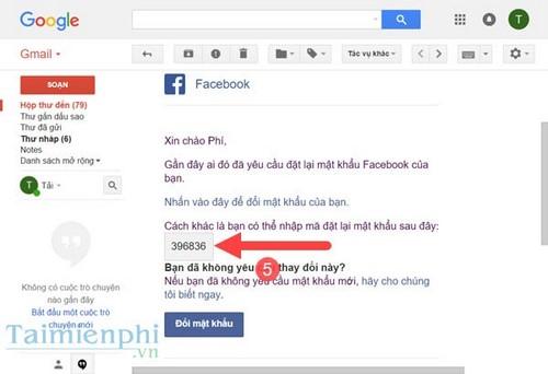 Cách lấy lại mật khẩu Facebook bị mất, quên bằng số điện thoại, gmail 4