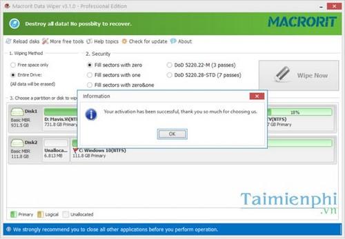 macrorit disk partition