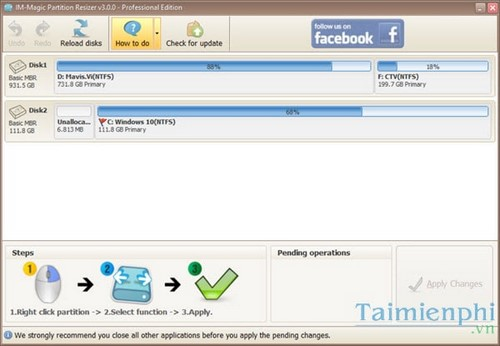 giveaway mien Phi im magic partition resizer pro