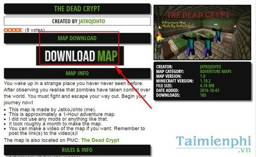 cai map minecraft