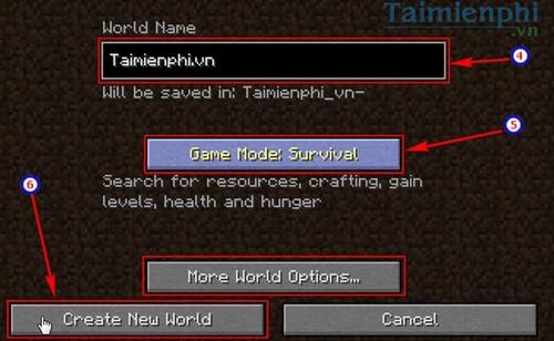 cách chơi minecraft online