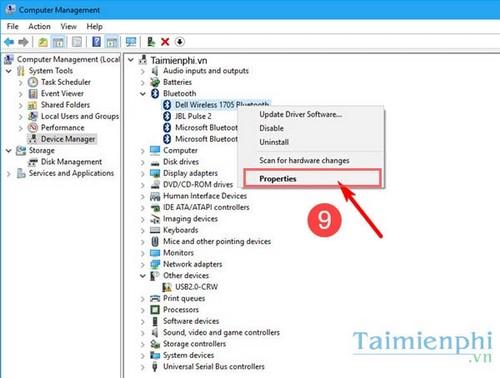 Sửa lỗi Bluetooth not working trên Windows 10 8