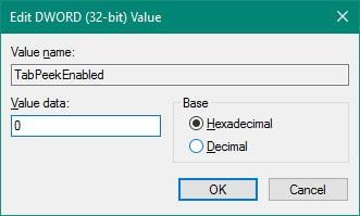 Tắt chế độ xem trước Tab Preview trên Microsoft Edge