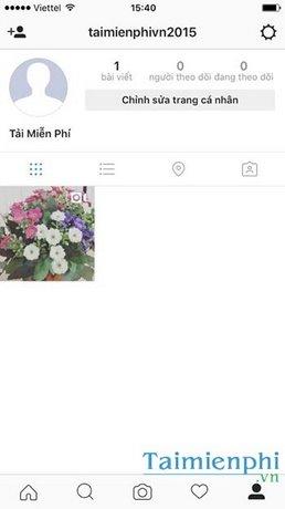Tìm kiếm bạn bè Instagram thông qua danh bạ điện thoại