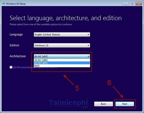 Cách tải file iso Windows 10, 8.1, 7 chính chủ từ Microsoft
