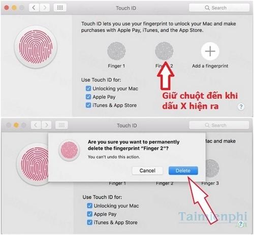 Sửa lỗi Touch ID không hoạt động trên Macbook Pro 2016