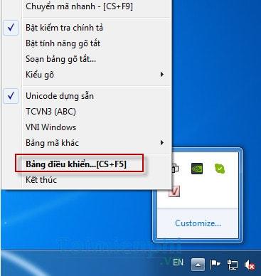 Cách sửa lỗi Unikey không gõ được tiếng Việt có dấu trên máy tính, laptop 17