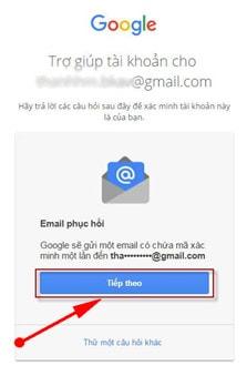 Cách lấy lại mật khẩu gmail, tài khoản google bị mất không nhớ 12