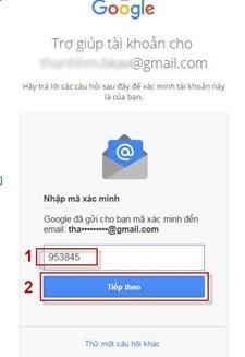 lay lai mat khau gmail bang gmail