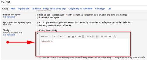 Cách tạo chữ ký Gmail, gửi thư chuyên nghiệp hơn 2