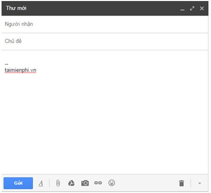 Cách tạo chữ ký Gmail, gửi thư chuyên nghiệp hơn 4