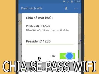 truy cap wifi khong can hoi mat khau tren dien thoai
