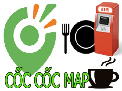 su dung coc coc map tren laptop