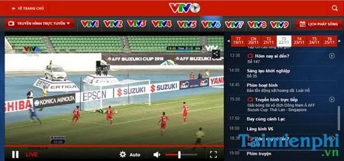 xem aff suzuki cup 2016 bang phan mem