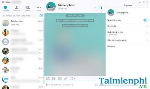 Zalo trên PC cập nhật tính năng mới, tìm kiếm tin nhắn, thêm kho ảnh 8