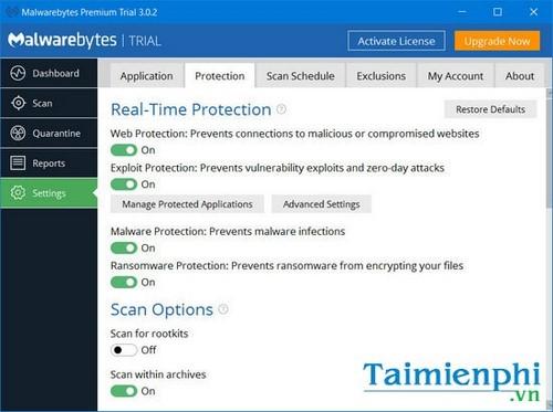 trai nghiem thu malwarebytes premium